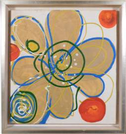 Follower of Hilma af Klint: Abstract Composition (gold