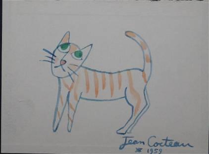 Jean Cocteau Le Chat
