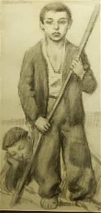 Continental School Spanish Castillian Shepherds
