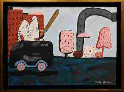 Philip Guston Abstract Composition