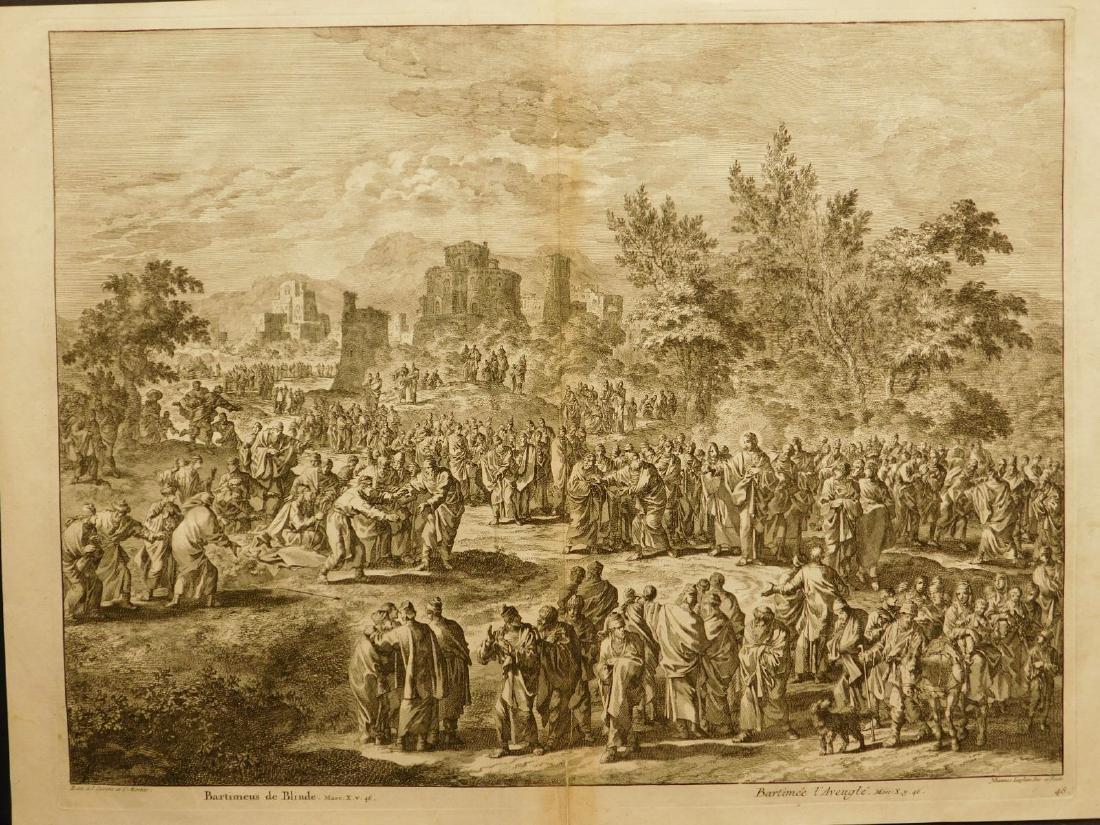 Covens en Mortier after Johannes Luyken: Bartimaeus the - Jul 18