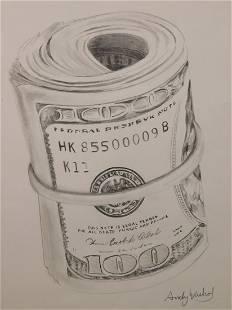 Andy Warhol Money Roll