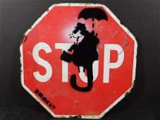 Banksy: Flying Ghetto Rat
