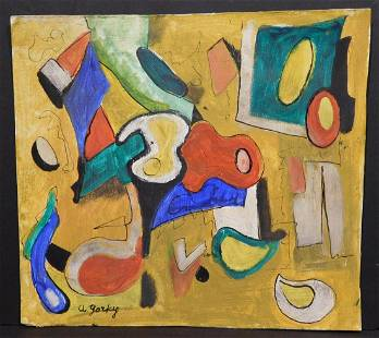 After Arshile Gorky Untitled Abstract Expressionist