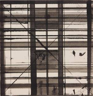 Brice Marden Abstract Composition