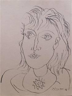 Pablo Picasso: Portrait of a Woman