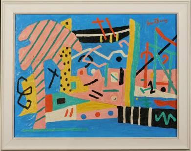 Stuart Davis Abstract Composition