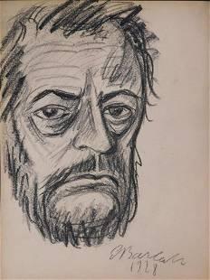 Ernst Barlach Portrait of a Man