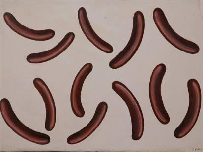 Sigmar Polke Abstract Composition
