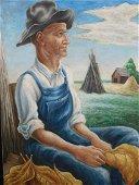 Thomas Hart Benton: Tobacco Farmer