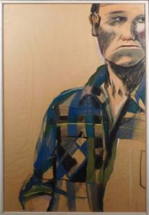Sheila Miles Pastel Portrait