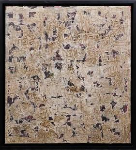 Manner of Lee Krasner Abstract Composition