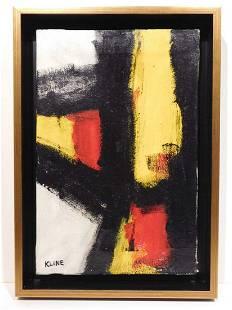 Franz Kline Abstract Composition