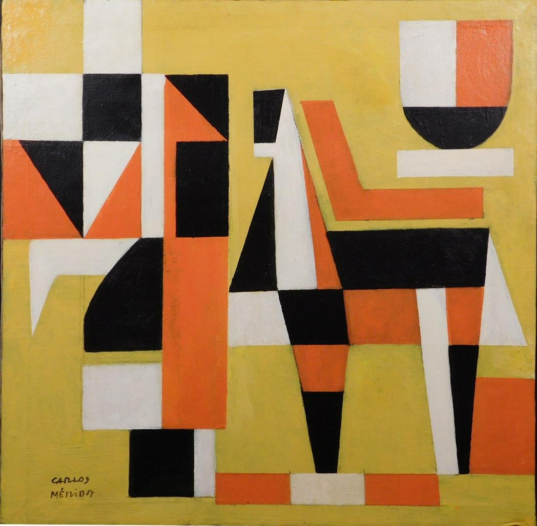 Carlos Merida: Abstract Composition