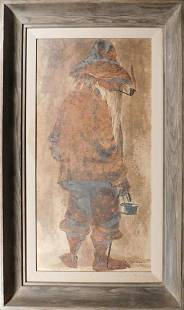 Frank Moss Hamilton The old Beggar Trinidad