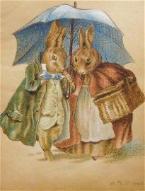 Beatrix Potter: Happy Pair 1890