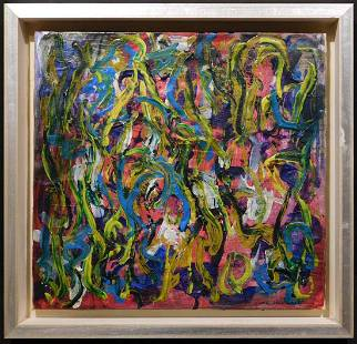 Joan Mitchell: Abstract Composition