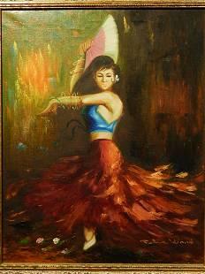 Peter Wood Spanish Dancer