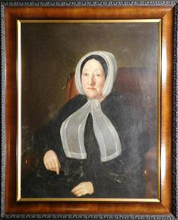 Chester Harding Attr Portrait of a Woman