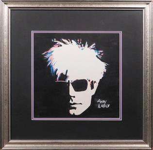 Andy Warhol Portrait After Greg Gorman