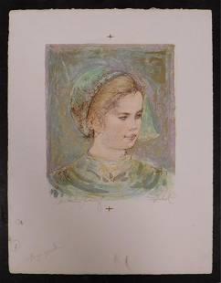 Edna Hibel Child of Sweden