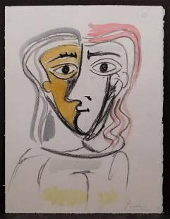 After Pablo Picasso Portrait of a Woman