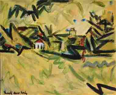 Frank Helmut Auerbach Untitled Landscape