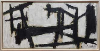 Franz Kline: Abstract Composition