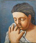 After Pablo Picasso: Portrait of a Woman