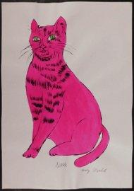 Andy Warhol: Sam The Cat