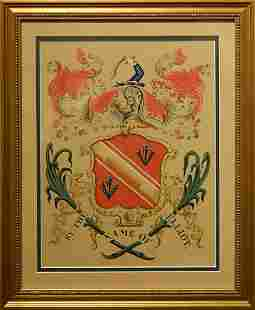 Coat of Arms By The Name of Elliot
