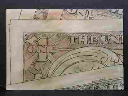 Andy Warhol Dollar Bills