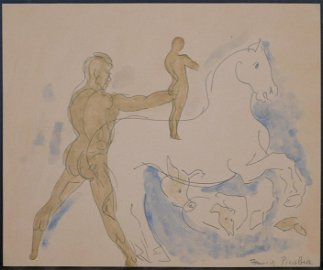 Francis Picabia: Man, Horse, and Other Animals