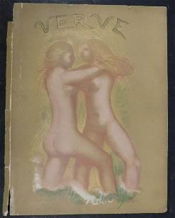 Aristide Maillol Verve Magazine Cover