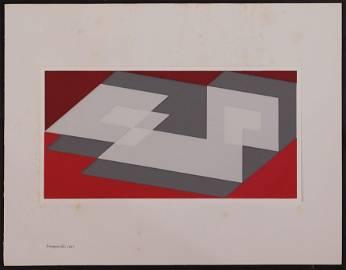 Joseph Albers: Tenayuca (b)