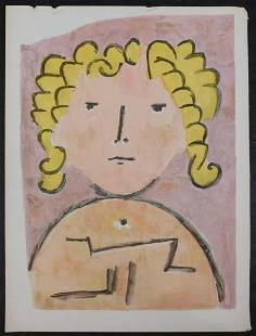 After Paul Klee Tete dEnfant