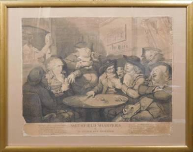 John Keyse Sherwin after Thomas Rowlandson Smithfield