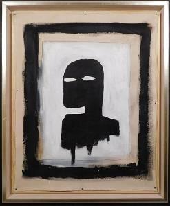Jean-Michel Basquiat:  Black Silhouette