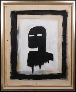 JeanMichel Basquiat Black Silhouette