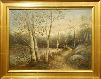 Grand Mansfield Forrest Landscape