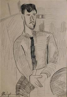 Amedeo Modigliani Portrait of Leopold Zborowski