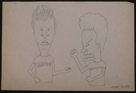 Mike Judge Bevis And Butthead