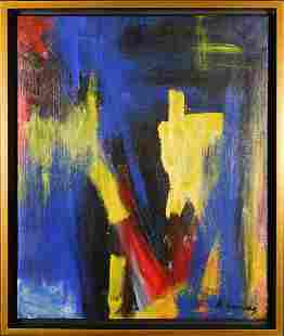 Willem de Kooning Abstract Painting