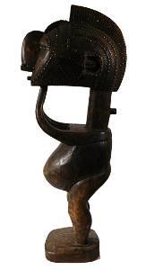 African Tribal Art Nimba (D'mba) Male Figure