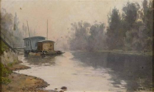William Baptiste Baird La Seine Neuilly