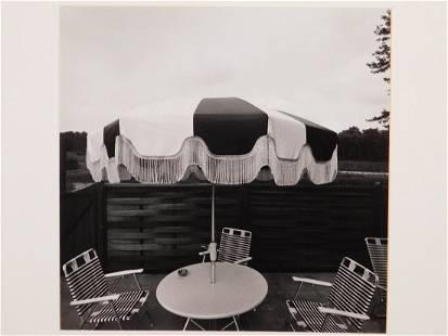Richard Lebowitz Untitled 1973 Patio