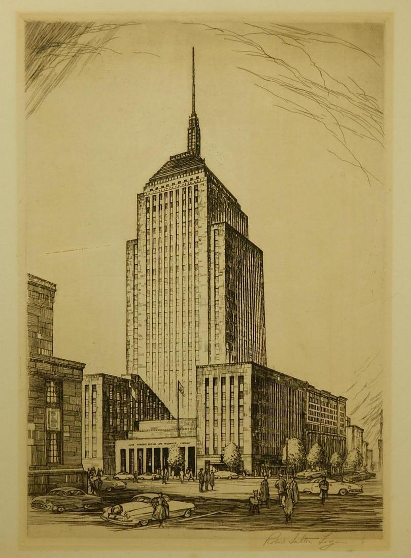 Robert Fulton Logan: John Hancock Building (Boston)