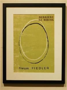 Francois Fiedler Derriere Le Miroir Cover