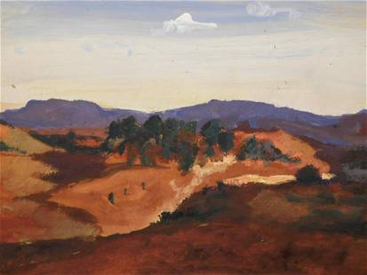 Jean Baptiste Camille Corot Manner of Landscape