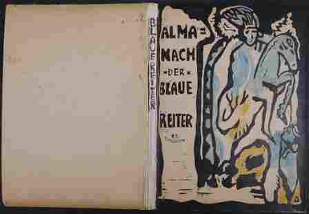 After Wassily Kandinsky Cover of Der Blaue Reiter